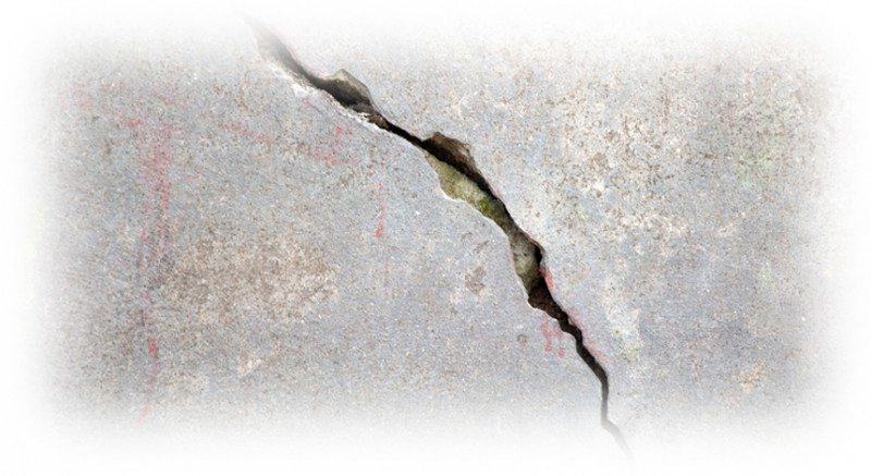 Cracked foundation leak solutions